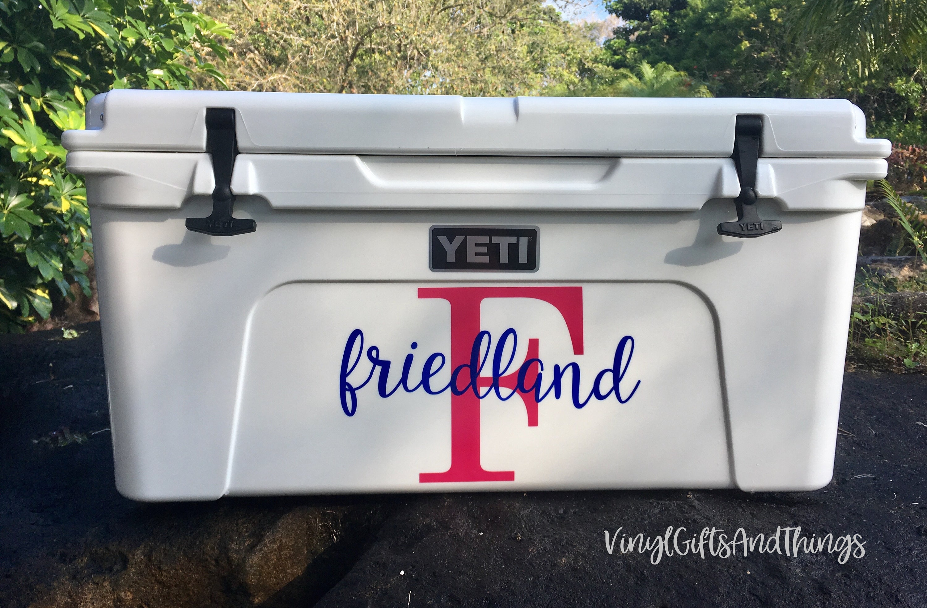 Personalized Yeti Cooler Decals Personalized Rtic Cooler Decals Custom Yeti Decal Custom Rtic Decal