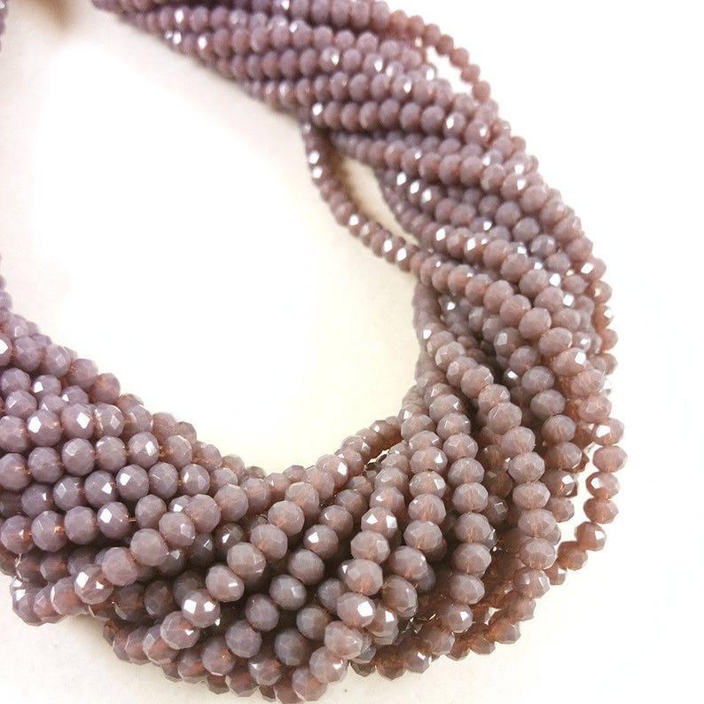 Chrysocolla Beads Rondelle Semiprecious Wholesale Gemstone Beads A 35 cm Strand 3-4 mm Grade