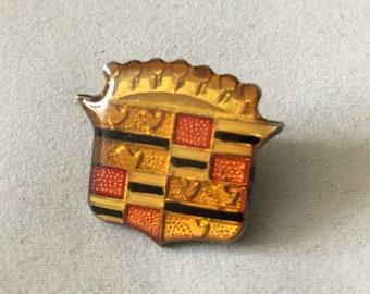 Vintage Cadillac Pin 0.75 X 0.75 Inches