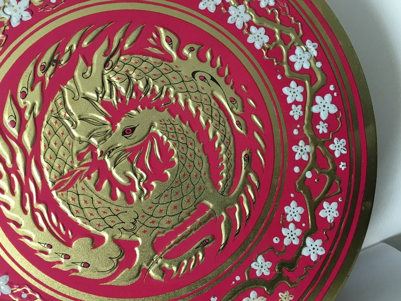 10 Huntley /& Palmers Vintage Dragon Tin Made In England