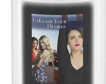 Unleash Your Desire, Lesbian Gift, Lesbian Couple, Lesbian Birthday, Lesbian Girlfriend, Girlfriend Gift, Lesbian Erotica, Olivia Hampshire