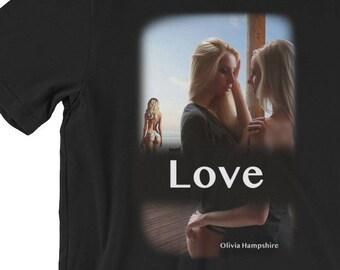 Lesbian Shirt, Lesbian Love Shirt, Lesbian Pride Shirt, Gay shirt, Lgbt Shirt, Gay Pride Shirt, Lesbian Pride, Lesbian Gift Shirt, Olivia Ha