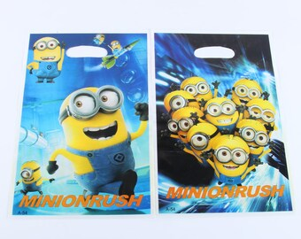 Minions Party Loot Bags 10-Pack