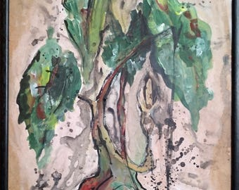 Original Weeping Willow Painting *Framed*