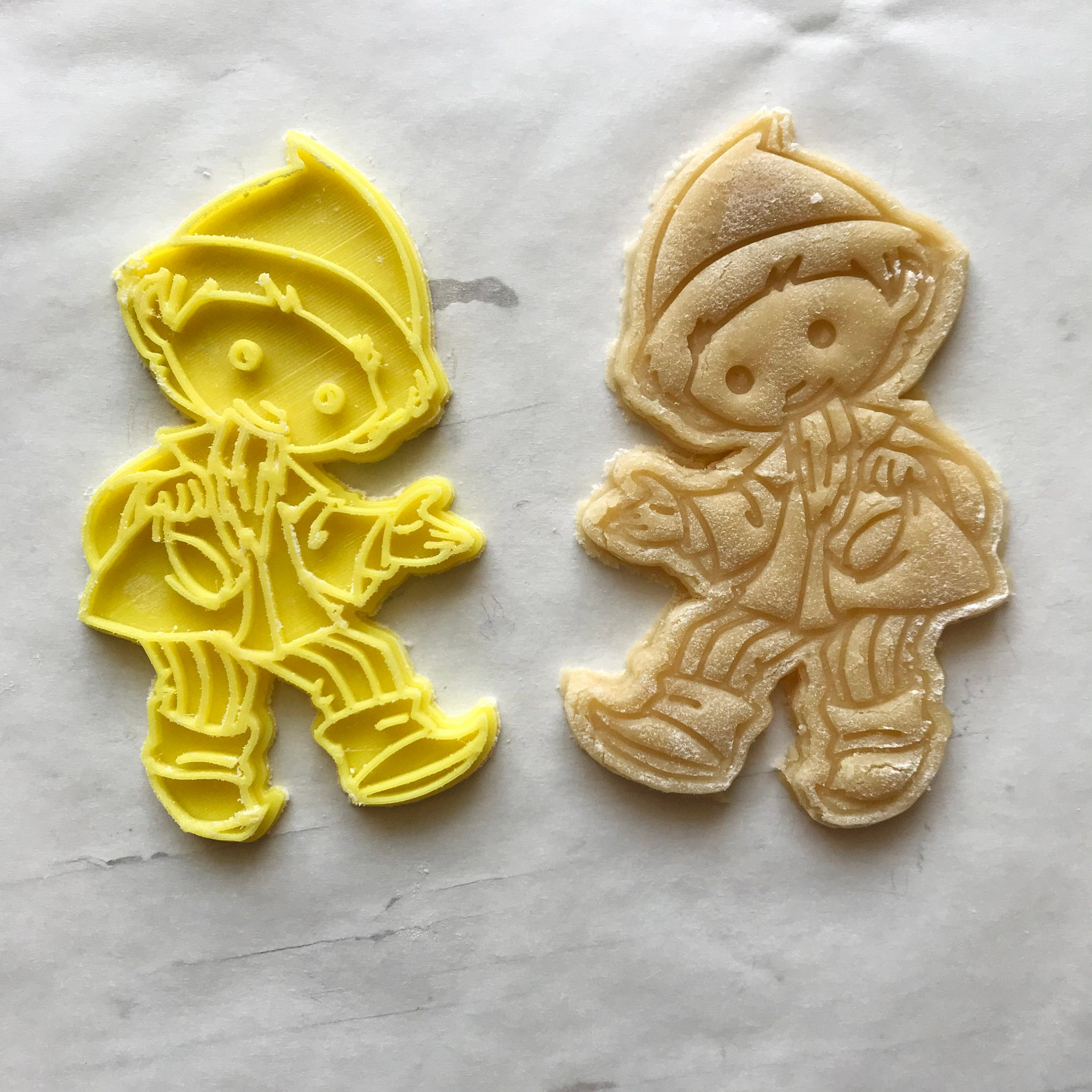 Sandman cookie cutter. Sandmännchen cookie stamp