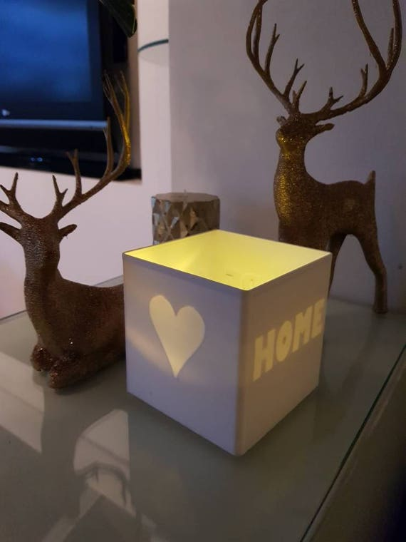 Secret Bougie LED porte - cadeau parfait pour elle - LED bougie inclus avec support - Decor - élégant - moderne