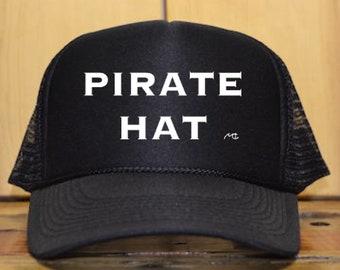 a25025dfc4ef7 Pirate Hat Trucker Hat
