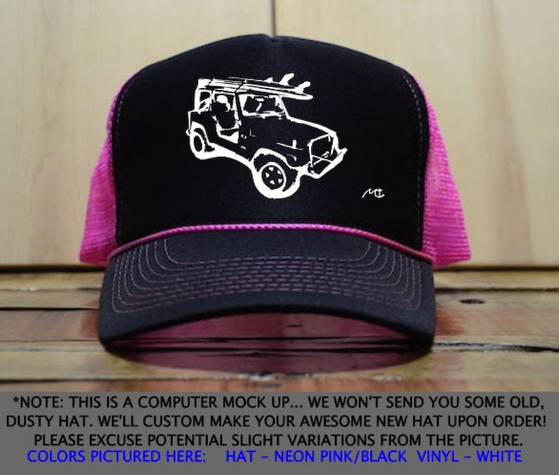 9b83b34880c Jeep Hat   Jeep Trucker Hat   Fun Machine Trucker Hat   Jeep