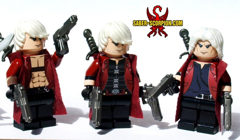 Devil Hunter Custom LEGO Minifigures (NEW Female Hunters!)