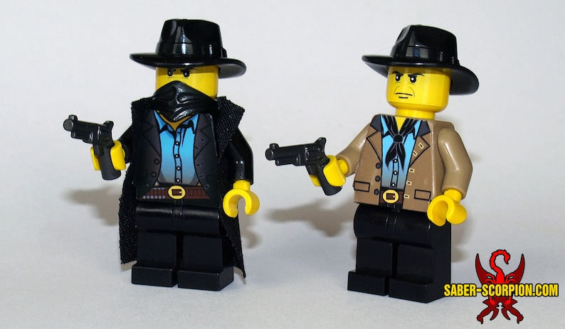 Old West Custom LEGO Minifigures