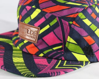 MultiColor African Print Hat