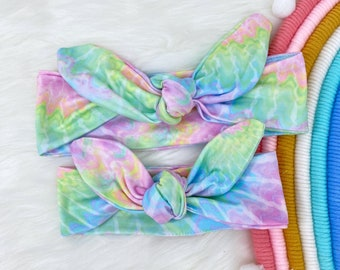 Mommy and Me Tie Dye Headband