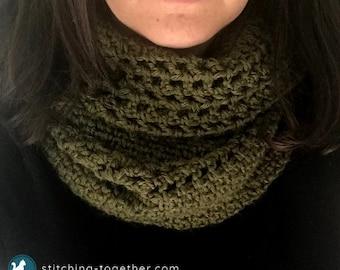 Crochet Moss Stitch Scarf | Crochet Scarf | Crochet Infinity Scarf | Crochet PATTERN PDF download