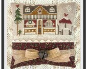 Little House Needleworks Cross Stitch Pattern Hometown Holiday COFFEE SHOP - 16