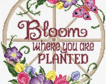 SPRING TOGETHERNESS Cross Stitch KIT by Imaginating