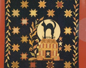 Blackbird Designs MIDNIGHT SILHOUETTE Quilt - Blackbird Designs Quilt Pattern