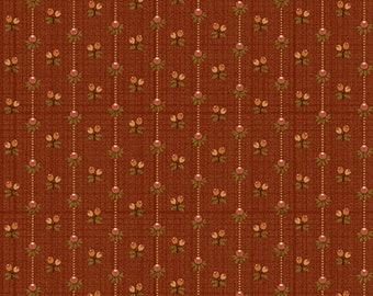 HELLO FALL PUMPKIN Yardage  - Hannah West for Henry Glass Fabrics - Autumn Fabric Yardage
