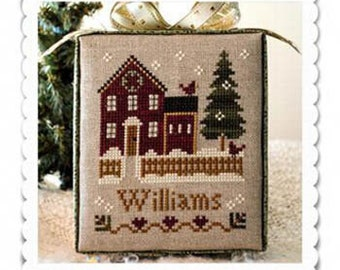 Little House Needleworks Cross Stitch Pattern Hometown Holiday MY HOUSE - #1
