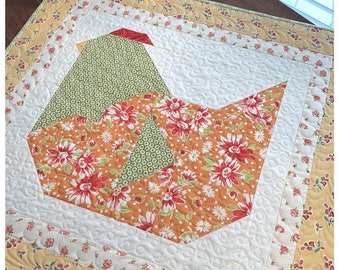 The Pattern Basket NESTING TABLE TOPPER Quilt Pattern