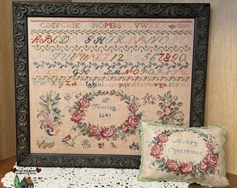From the Heart D Freitag 1849 Cross Stitch Pattern ~ 2021 Fall Needlework Expo