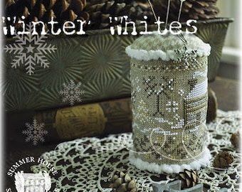 Summer House Stiche Workes ~ WINTER WHITES ~ Cross Stitch Pattern ~ Fall 2021 Needlework Expo