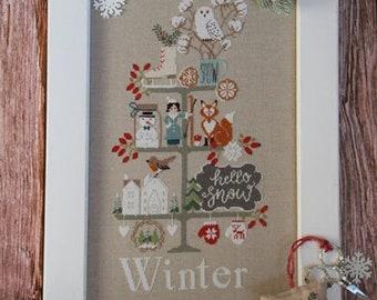 Madame Chantilly CELEBRATE WINTER Cross Stitch Pattern - NEW!