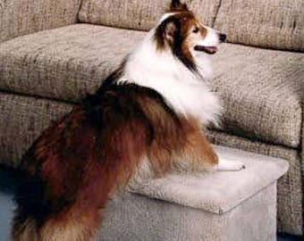 Single Carpeted Pet Step