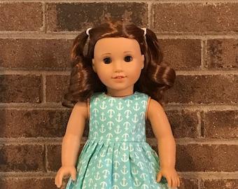 Dress for 18 inch dolls (fits American Girl Dolls)