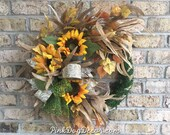 Fall Front Porch Wreath