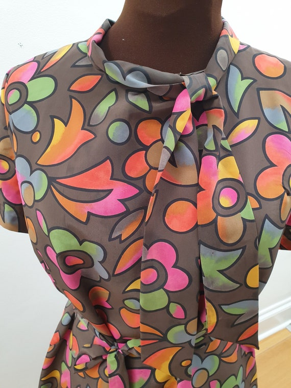 Psychedelic 1960s Two Piece