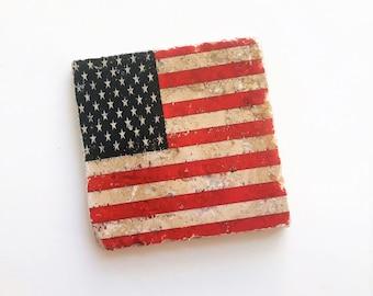 13c3b041a8b8 American Flag Coasters