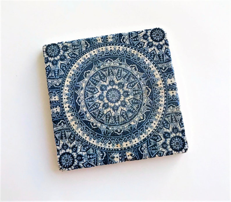Mandala Coaster Gifts For Her Handmade Coaster Mandala Etsy