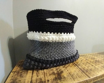 Neutral Huntley Bag, Boho Purse, neutral purse, crochet purse, tote bag, purse, market bag, tote bag