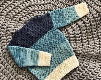 OSKAR sweater | hæklet sweater