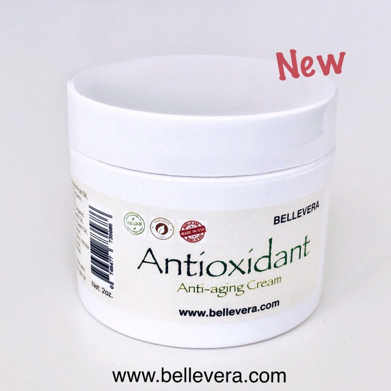 Antioxidant Face Cream, Retinol vitamin A, vitamin C & E, Anti aging, for  Wrinkles and Fine Lines, Puffiness, Dark Circles, Aloe Vera