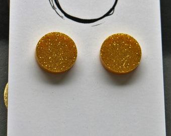 Stud Mania (Glitter Gold)