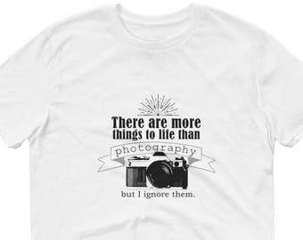 Photographer T-Shirt/Photographer Gift/Camera Shirt