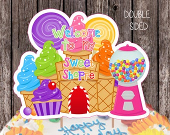 Candyland Decorations Etsy
