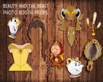 Beauty And The Beast Party Etsy