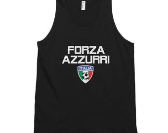 Men's Italy Soccer Classic Tank Top