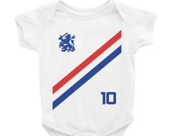 Nederland Onesie Soccer World Cup Infant Baby Toddler Newborn Bodysuit The  Netherlands Holland Boys Girls 772c535d7