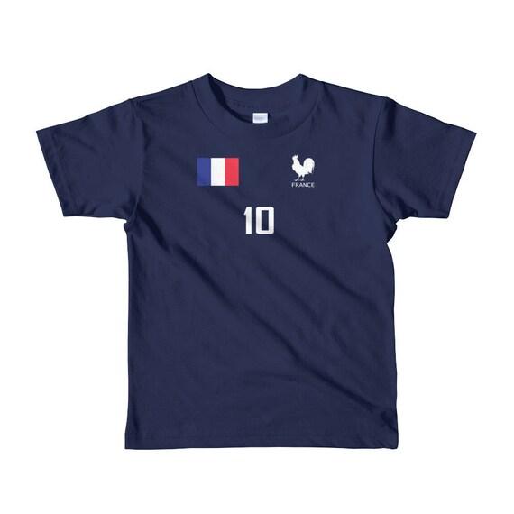 4eb516191a6 France Kids World Cup Soccer Shirt Boys Girls | Etsy