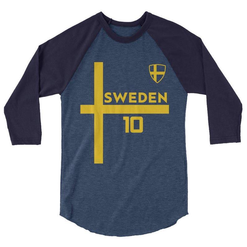 Sweden Jersey Shirt World Cup Soccer Short-Sleeve T-Shirt  b3c57aa28