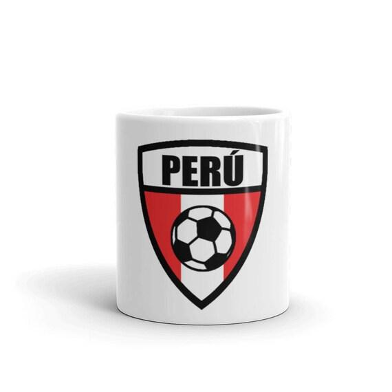b1f7ff6ef Peru World Cup Football Peruvian Coffee Mug Style Soccer