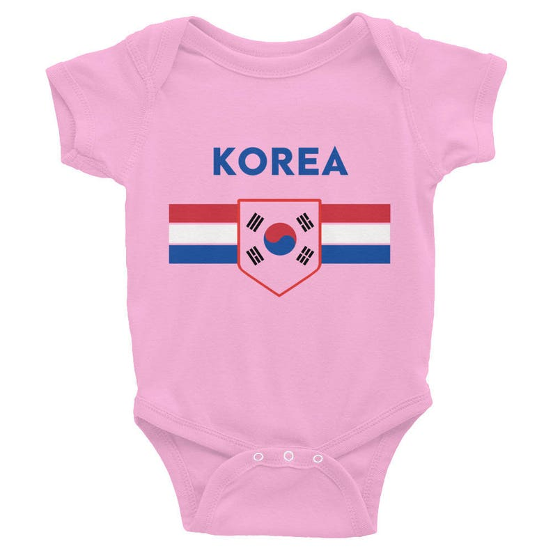 5288f388a11 South Korea Baby Shower Soccer World Cup Infant Baby Toddler