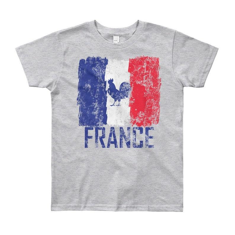 8f31177d63a France Kids Jersey Shirt Soccer Boys Girls World Cup T-Shirt | Etsy