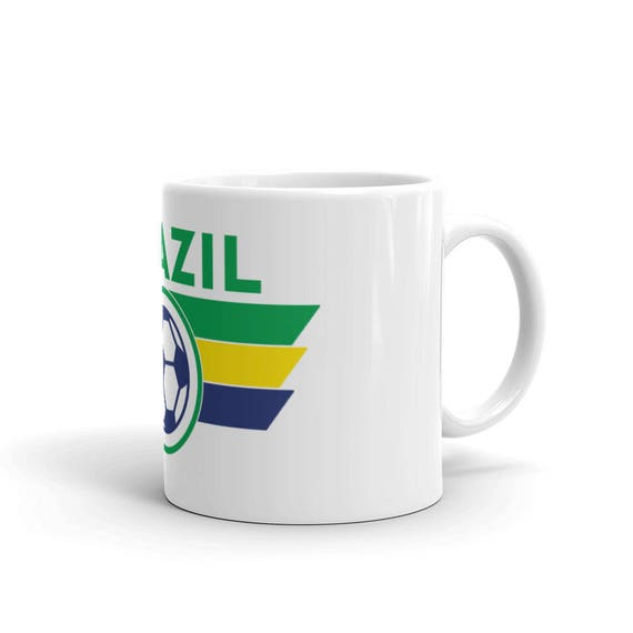 0efd71348 Brazil World Cup Football Brazilian Coffee Mug Style Soccer