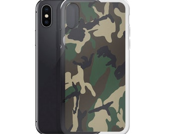 Green Camo Phone Cover