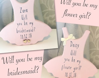 Will You Be My Flower Girl Etsy