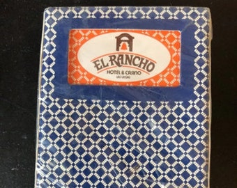New Vintage  Unopened PGC Playing Cards From The Now Closed EL RANCHO Hotel  & Casino